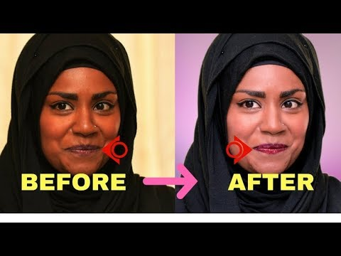 How to Remove Background From Image In Photoshop ? Clean Face and Makeup..!