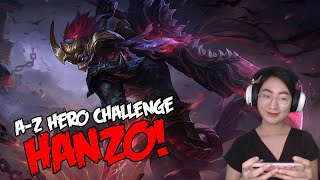 A-Z Hero Challenge | Hanzo until I Win in Rank!