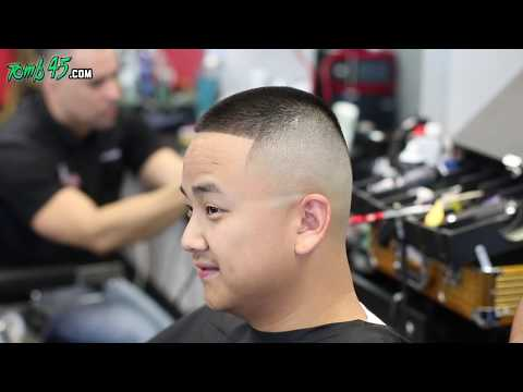 Barber Tutorial! High bald fade with sharp lineup!