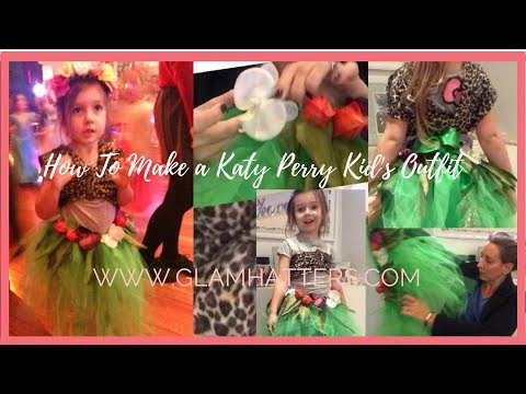 How To Make A Katy Perry Kids Costume [For The School Disco!]