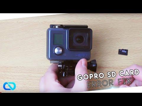 GoPro SD Card Error FIX 2015