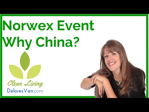 Norwex Customer Appreciation Event.  Why are products made in China?  How can Norwex help you?