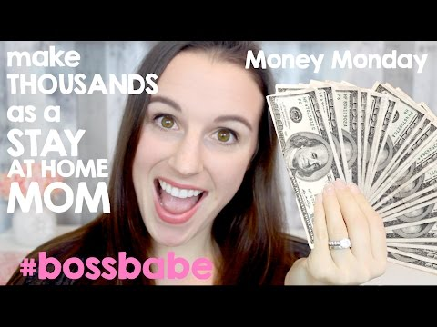 REAL WAYS to Make Money As A Stay At Home Mom