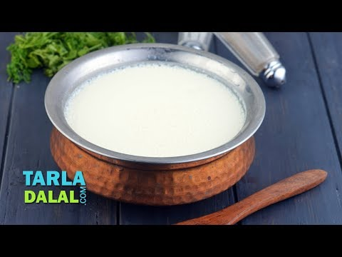 Curds, How to make curds, dahi, yogurt at home by Tarla Dalal