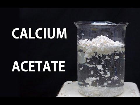 Making Calcium Acetate (from eggshells)