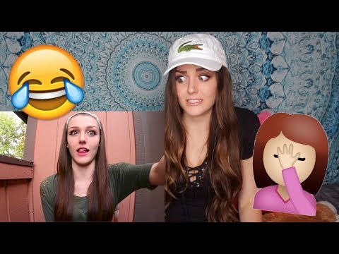 REACTING TO MY OLD CRINGEY VIDEOS!!!