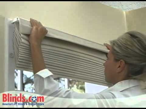 How to Install Outside Mount Roman Shades   Blinds com   YouTube