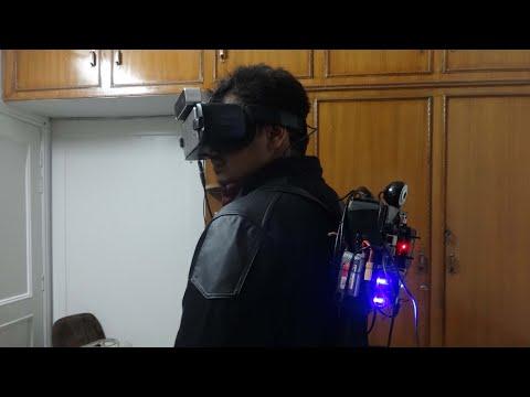 VR HUD Helmet