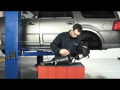 How to Replace a Rear Air Spring on the 2003-2006 Ford Expedition & Lincoln Navigator