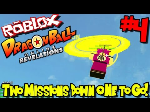 TWO MISSIONS DOWN, ONE TO GO! | Roblox: Dragon Ball Online Revelations - Episode 4