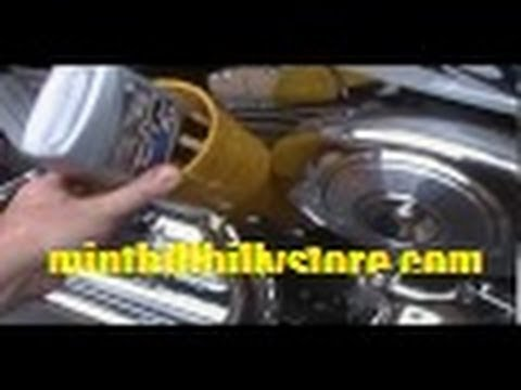 How to: Change Oil and Filter on a Harley Davidson