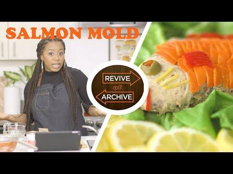 Canned Salmon & Gelatin?! Episode 1: Molded Salmon | Allrecipes: Revive or Archive | Allrecipes.com