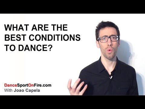 What Are The Best Conditions to Dance - Dancesport On Fire