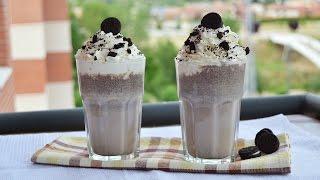 Oreo Vanilla Ice Cream Milkshake Easy Homemade Oreo Milkshake Recipe