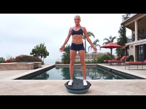 BOSU Ball Workout for Buttocks - BOSU Ball Exercises for Glute - Sculpt a Perfect Booty