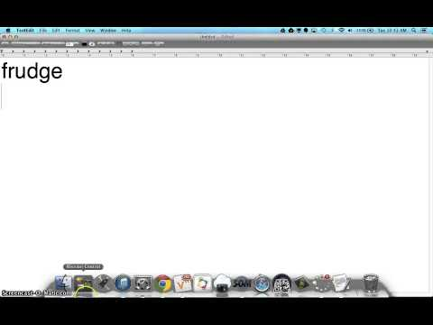 Unlearn a Word in Spell Check on a Mac