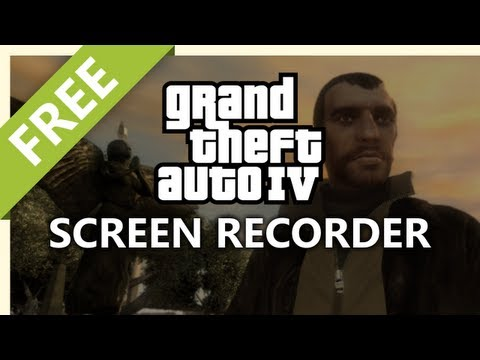 Screen Record Grand Theft Auto IV