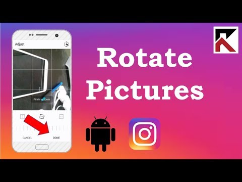 How To Rotate Photo Instagram Android 2018