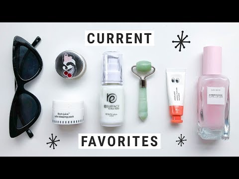 Current Favorites - Fashion, Skincare, & Makeup!