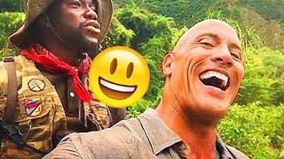 JUMANJI 2 Funny BLOOPERS (New 2018)