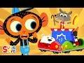 Mr Coyote39s Bumper Cars Don39t Bump Mr Monkey Monkey Mechanic