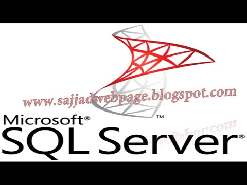03 | Create database in SQL server 2012 in urdu/hindi