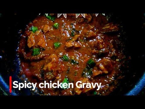Chicken Gravy in tamil/கோழி வறுவல்/ Indian Style Spicy Chicken Gravy Recipe in Tamil/Chicken Recipes
