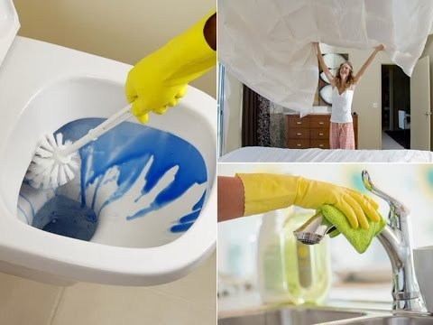 How Often Should You Clean Your Toilet, Your Bed Sheets, The Fridge And Your Make-Up Bag ?