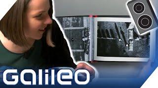 Lautsprecher so dünn wie Papier -  Ist Sound-Papier die Zukunft? | Galileo | ProSieben