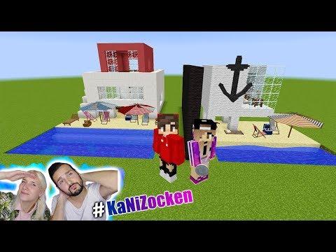 NINAS STRANDHAUS vs KAANS STRANDHAUS! Wer kann besser Urlaub machen? Minecraft Build Battle