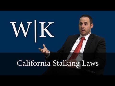California Stalking Laws - PC 646.9