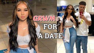 GRWM to go on a date with my Boyfriend 💞