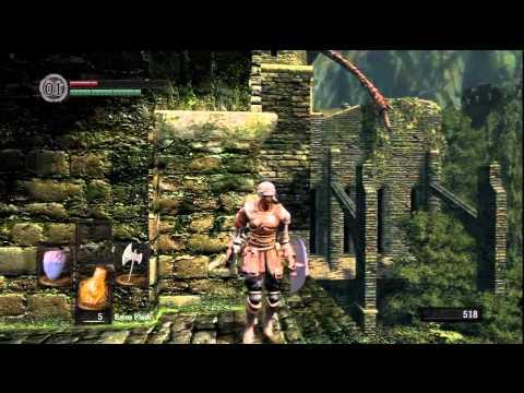 Dark Soul - Pt. 3 Undead Burge - Red Dragon (Drake Sword)