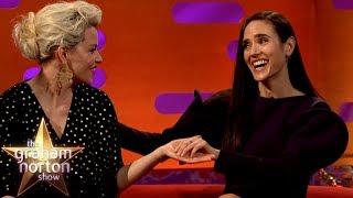 Elizabeth Banks & Jennifer Connelly LOVE The British Accent | The Graham Norton Show