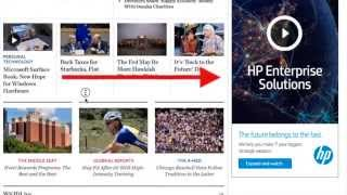 Example of Sticky/Fixed Sidebar – Improve Ad Viewability
