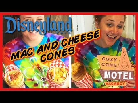 Recreating Disney's Mac and Cheese Cozy Cones - Cooking with Liz