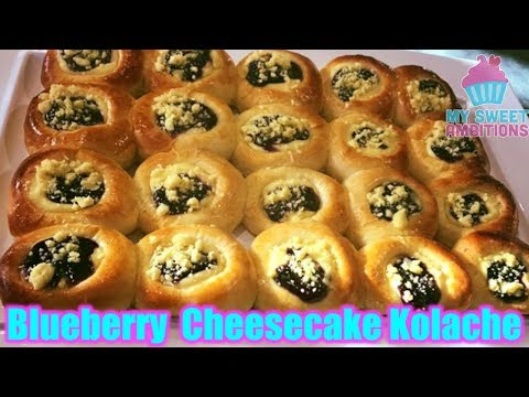 Blueberry Cheesecake Kolache