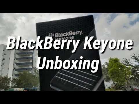 BlackBerry Keyone Unboxing