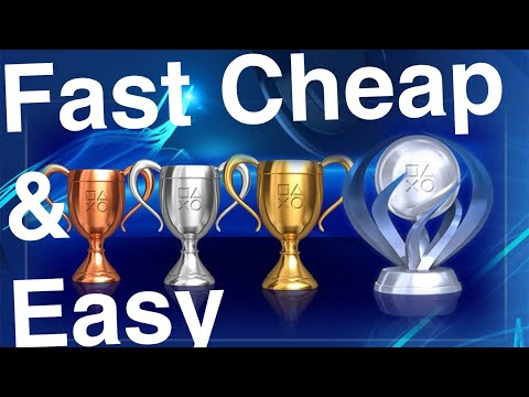 PS4 Platinum Trophy Fast CHEAP and Easy Trophies — Maybe Worst PS4 Game Ever