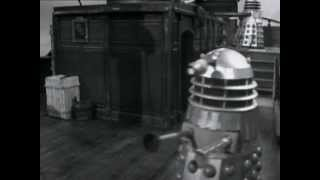Dalek jumping into water