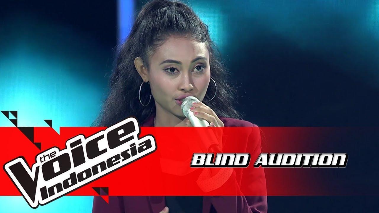 Download Novi - Titanium   Blind Auditions   The Voice Indonesia GTV 2018 MP3 Gratis