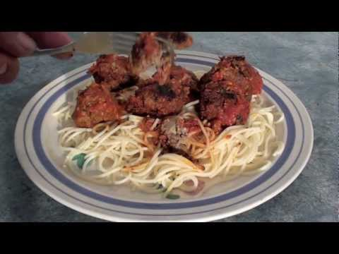 Cheesy Meatballs & Spaghetti - Recipe