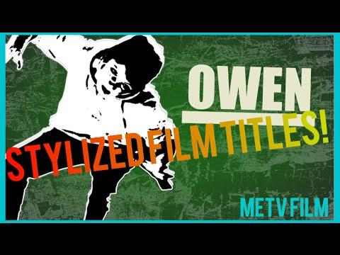 Stylized Film Title Tutorial | MeTV Film