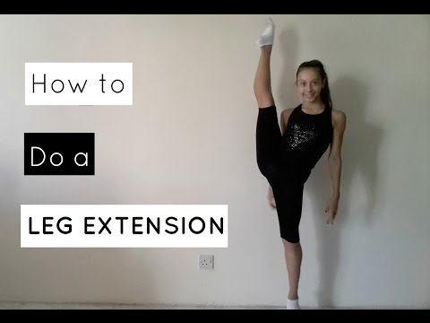 How to do a leg extension