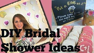 Diy Bridal Shower Ideas Tutorial Decorations Games And Dessert