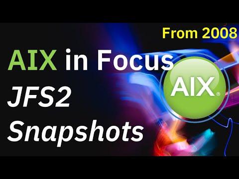 AIX 6 JFS2 Inline Snapshot