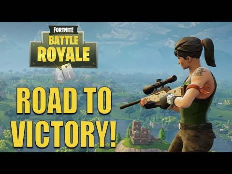 Fortnite Battle Royale - ROAD TO SOLO VICTORY!