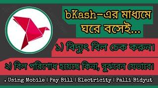 Palli Bidyut Bill payment By bkash A Z - PakVim net HD
