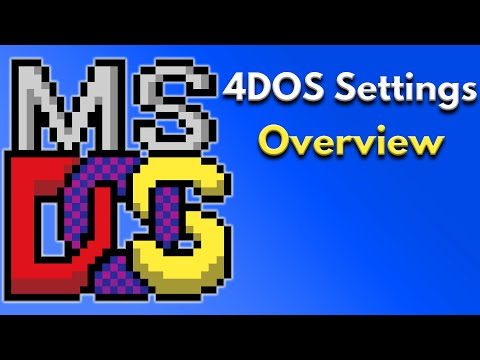 Take 12 Minutes to Get Started With 4dos Settings