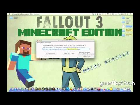 How To Download Someones Minecraft Skin (Mac)